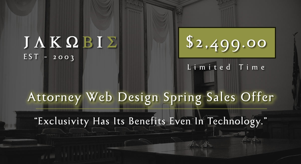Jakobie Sale Iowa Attorney Web Design